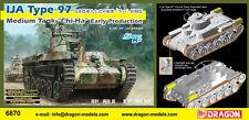 DRAGON 6870 Tank Japonais Type 97 CHI-HA dbut production