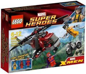 LEGO 6866 Marvel Super Heroes Wolverine's Chopper Showdown New/Sealed Deadpool