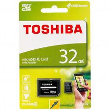 Cartes mémoire Toshiba microsd pour appareil photo et caméscope