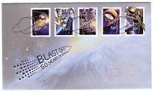 "2007 FDC. Australia. Blast Off: 50 years in space. P&S. PictFDI ""WOOMERA"""
