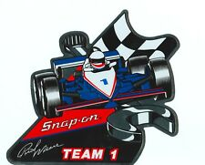 NEW Vintage Snap-on Tools Rick Mears INDY Tool Box Sticker Racing Decal SSX845BL