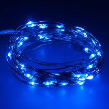2m LED Kupfer Draht Lichterkette Lichterdraht 5V Leuchtdraht mit USB Anschluss