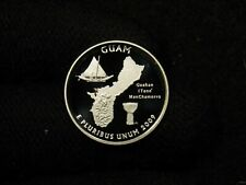 2009-S PROOF Silver Washington Territories Quarters GUAM