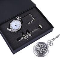 Fullmetal Alchemist Edward Elric's Pocket Watch Cosplay Set