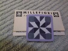 *MILLEFIORI* PATCHWORK CLAY PIN BY PRISCILLA WENTWORTH ~ MADE IN MAINE  NOS