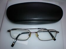 VINTAGE MADE IN KOREA EYE GLASS FRAMES GARISA UNISEX SILVER