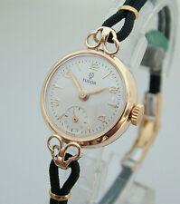 Stunning Rolex Tudor Ladies Solid Gold Vintage Watch 1956