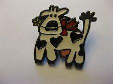 Cow Button Pin