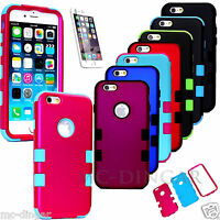 """Hybrid Shockproof Hard Rugged Cover Case For Apple iPhone 6 / 6S 4.7"""""""