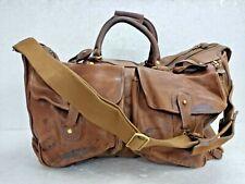Old Vintage Rare Marley Hodgson Ghurka No 2 Express Travel Bag Reg. Made In USA