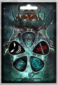 Disturbed Evolution Set of 5 Plectrum Pack / Guitar Picks (rz)