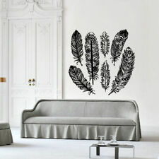 Wall Decal Sticker Vinyl Feather Bird Plumage Tenderness Air Down Bedroom M997