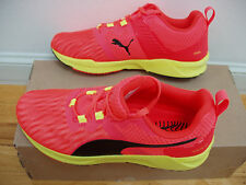 NEW! Puma Ignite XT cushion running shoes men's 7.5=women's 9 US red/neon yellow