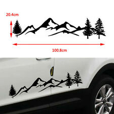 Car SUV Accessories Rear Window Sticker Emblem Auto Body Decal Decoration 100cm