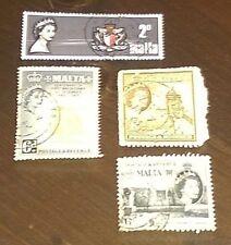 Francobolli/Stamps/ Malta/ Pz.4