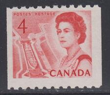 Canada #467i 4¢ Centennial Coil Definitive MNH