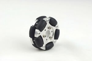 Aluminum Alloy 60mm Omni Wheel With Hub For DIY Arduino Robot Competition