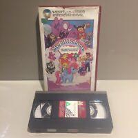 My Little Pony Ex-rental big box VHS video The Movie vintage G1 80s Retro