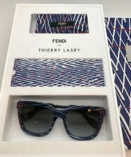 FENDI Thierry Lasry Navy Blue Red KINKY FF0180/S Sunglasses