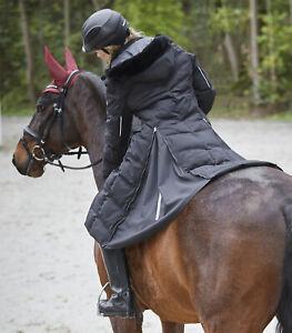 SAPHIRA Damen Reitmantel ELT schwarz neues Model Wintermantel Mantel NEW alle Gr