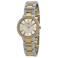 Fossil Virginia Two-tone Steel Bracelet Ladies Watch ES3503