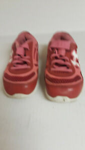 Under Armour pink sneakers toddler girls sz 10