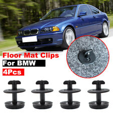 4XSet Floor Mat Carpet Clips For BMW E46/E39/318I/325I/X3 MINI Rivet Fastener