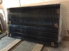 25 St 3D Gitterstabmatten H 1530 mm B 2500 mm Grün Anthrazit Schwarz 28 E pro St