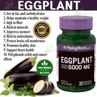 EGGPLANT 6000mg ANTIOXIDANT Weight Loss Memory Skin Herbal Supplement 30 Capsule