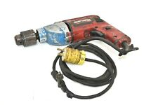 """METABO 526 1/2"""" CORDED DRILL WITH KEY. 120V, 5/64-1/2"""", 2-13MM CAP"""
