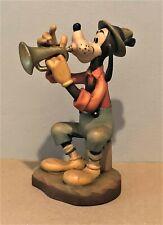 "Anri/Walt Disney Studios 6"" ""Goofy"" Lmt Ed 390/500 Woodcarving Item # 656005"