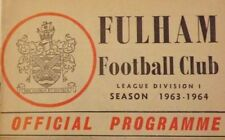 Fulham Home Team Football League Fixtures
