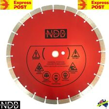 "14"" 356mm Premium Diamond Saw Blade Demo Concrete Masonry Brick Tile FASTPOST"