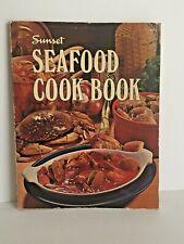 Vintage 1967 Sunset Seafood Cook Book Paperback
