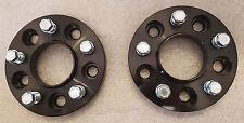 Para adaptarse a Bmw X1 2009 en 30 mm Hubcentric Separadores de ruedas 5x120 1 Par-Negro