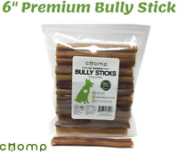 6 inch Premium BULLY STICK Dog Chew Best Dog Treat SALE!! (25 count)
