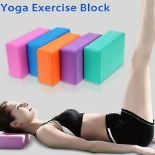 Yoga Block Foam Brick Stretching Aid Gym Pilates For Sports Exercise Fitness P3