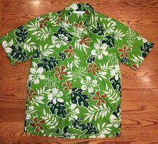 NEW! Mens Made In Hawaii Dress Shirt Large Short Sleeves Nice