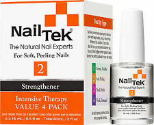 Nail Tek Intensive Therapy II For Soft, Peeling Nails - 15 mL (4 Pack) - 55808