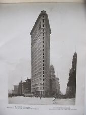 ALBUM livre recueil des meilleures photos de NEW YORK 1903.