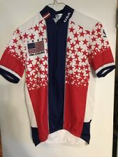 Cycling Jersey 1996 Pearl Izumi US Team USA Stars Red White Blue Stars Olympics