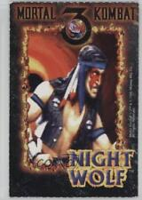 1995 Midway Mortal Kombat 3 #NIWO Night Wolf Non-Sports Card k5i