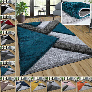 Soft Shaggy Rug Fluffy Thick Rugs Non Slip Living Room Floor Bedroom Area Rug