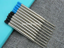 5 Black and 5 Blue Ballpoint Pen Refill Fit For Parker style
