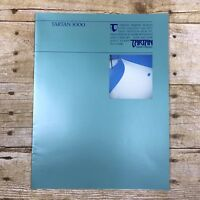 Vintage Sailboat Dealer Sales Brochure Tartan Marine Company 3000 1983 Boating