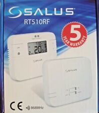 SALUS 5/2 7 DAY PROGRAMMABLE DIGITAL WIRELESS ROOM THERMOSTAT RT510 RF STAT