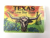 Vintage Texas The Line Star State Playing Cards Long Horn Steer Deck