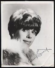 Carol Burnett VINTAGE Signed 8x10 Photo Autographed Early Career 1960's