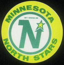 Minnesota North Stars Original 1969 Cloth Fabric Sticker NHL Rare VTG Hockey Gem