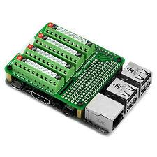 Pi Screw Terminal Block Breakout Module, for Raspberry Pi. SKU: MD-D1144-1
